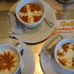 Galileo caffe art