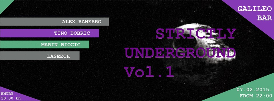 Strictly Underground Vol.1