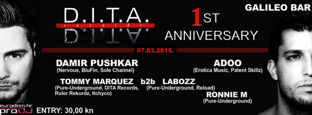 DITA records @ Galileo bar